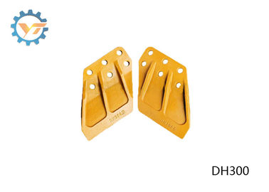 DH300 DAEWOO Excavator Bucket Side Cutters With Heat Treated